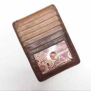 🌿 HOBO ID Card Wallet Brown
